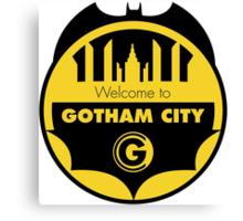 Welcome Gotham Canvas Print