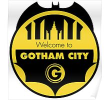 Welcome Gotham Poster