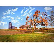Autumn Kentucky Farm Photographic Print
