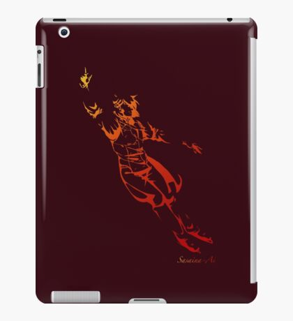 keith figure skating silhouette iPad Case/Skin