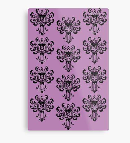 Haunted Mansion Wallpaper!  Metal Print