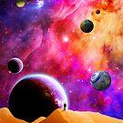 Space Solitude by TenTimesKarma