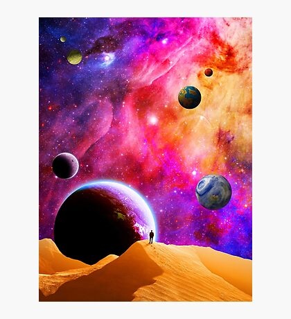 Space Solitude Photographic Print