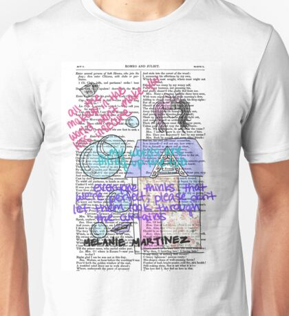 Melanie Martinez Book Art #1 Unisex T-Shirt