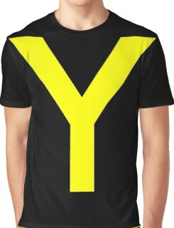 Y - yankee - taxiway sign Graphic T-Shirt
