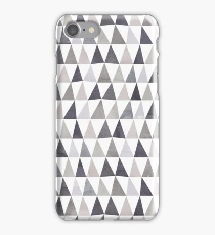 Muted Triangles Imperfect Geometry iPhone Case/Skin