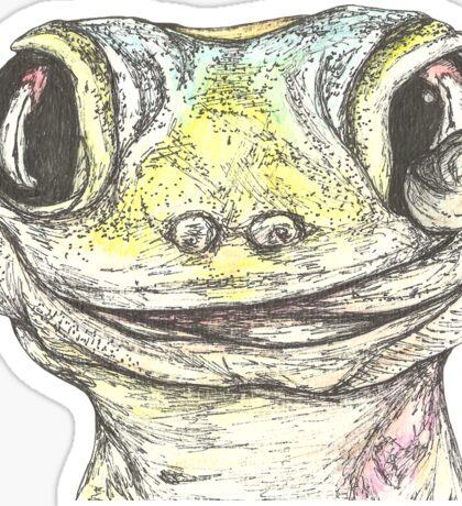 Garry the Gecko Sticker