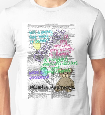 Melanie Martinez Book Art #2 Unisex T-Shirt