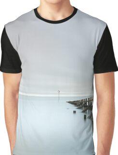 Portobello Sea Groynes Graphic T-Shirt