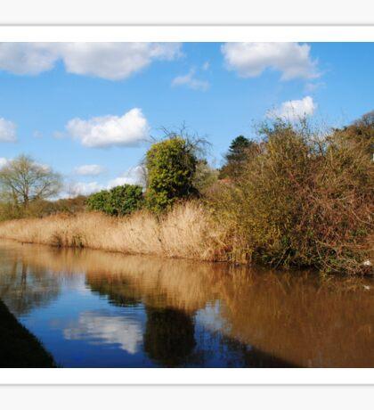 Worcester to Birmingham Canal Sticker