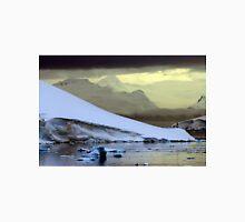 Antarctic Mountain Landscape Unisex T-Shirt