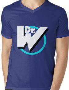 Dr. Wily Logo Mens V-Neck T-Shirt