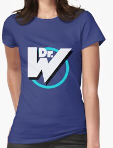 Dr. Wily Logo Womens Fitted T-Shirt