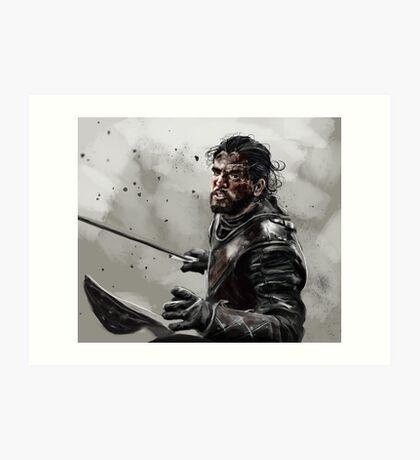 Game of Thrones: Jon Snow Art Print