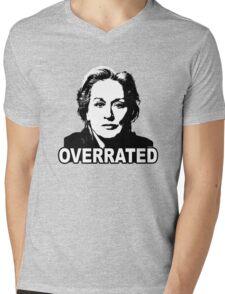 Meryl Streep: Overrated Mens V-Neck T-Shirt