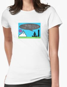 Inner Peace Womens Fitted T-Shirt