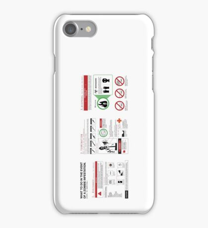 Survival Guide iPhone Case/Skin