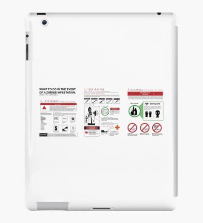 Survival Guide iPad Case/Skin
