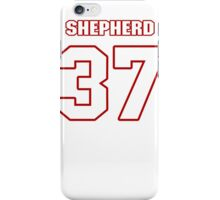 NFL Player Bryan Shepherd thirtyseven 37 iPhone Case/Skin