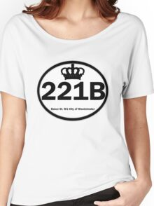 221B Baker St. Women's Relaxed Fit T-Shirt