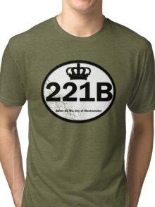 221B Baker St. Tri-blend T-Shirt
