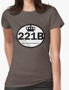 221B Baker St. Womens Fitted T-Shirt