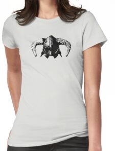 Skyrim Dragonborn Helmet Womens Fitted T-Shirt