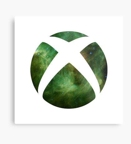 XBOX Nebula Metal Print