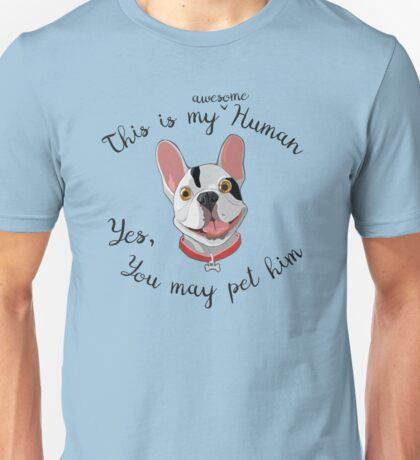 Smile of a dog - FrenchBull Unisex T-Shirt