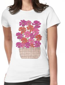 Bright Cosmos Womens Fitted T-Shirt