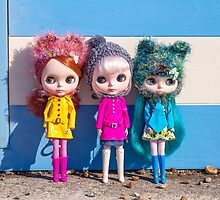 Blythes by the seaside by Zoe Power