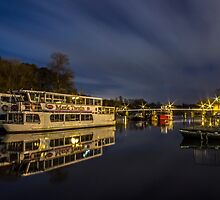 Boats on the River Dee, Chester by Paul Madden