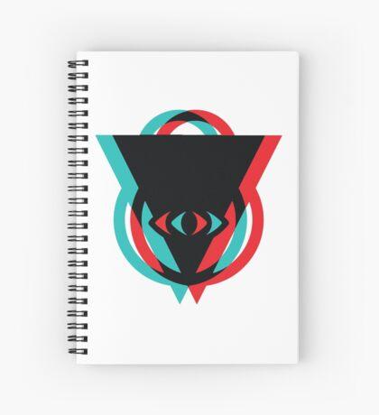 Eye 3D See You Spiral Notebook