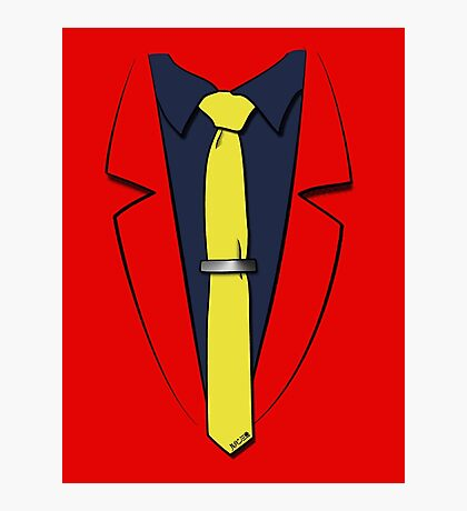 Lupin III's suit Photographic Print
