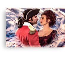 "Demelza & Ross ""Ocean of desire"" Canvas Print"