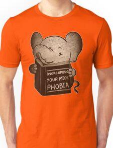 Elephant Overcoming Your Mice Phobia  Unisex T-Shirt