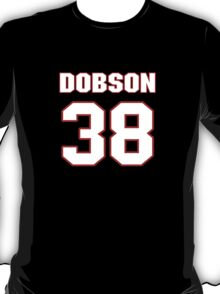 NFL Player Mike Dobson thirtyeight 38 T-Shirt