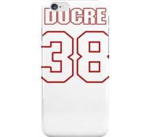 NFL Player Greg Ducre thirtyeight 38 iPhone Case/Skin