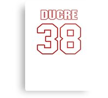 NFL Player Greg Ducre thirtyeight 38 Metal Print