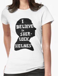 John believes in Sherlock Holmes Womens Fitted T-Shirt