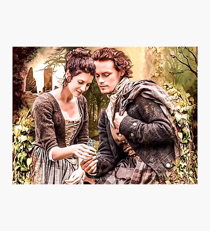 "Claire & Jamie ""The keys to my heart"" Photographic Print"