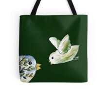 Birds Drawing Tote Bag