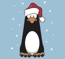 Christmas Pensive Penguin T-Shirt