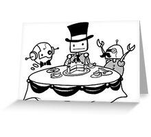 High (Tech) Tea Greeting Card