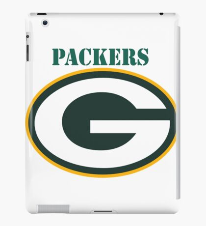 packers T-shirts iPad Case/Skin