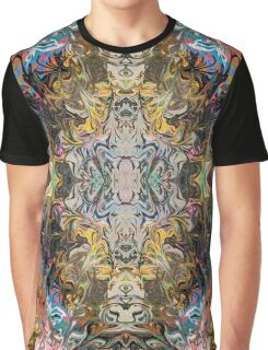 2017 Psychedelic Shinny  Graphic T-Shirt