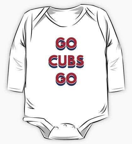 Go Cubs Go Chicago Cubs One Piece - Long Sleeve