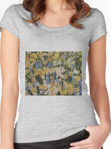 Lupine Forest Women's Fitted Scoop T-Shirt
