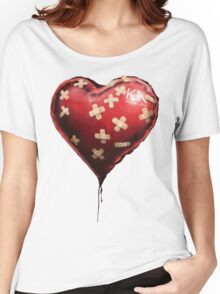 Bansky baloon  Women's Relaxed Fit T-Shirt