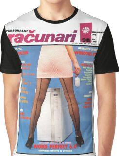 Racunari - Retro Computer Girl 98 Graphic T-Shirt